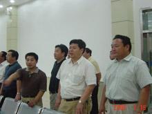 2005年7月,国家发改委经贸流通司副司长耿书海莅临集团视察工作